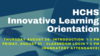 Innovative Learning Orientation